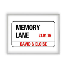 Load image into Gallery viewer, Personalized London Street Sign Print - Blim & Blum