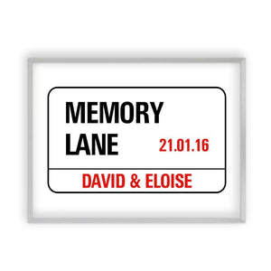 Personalized London Street Sign Print - Blim & Blum