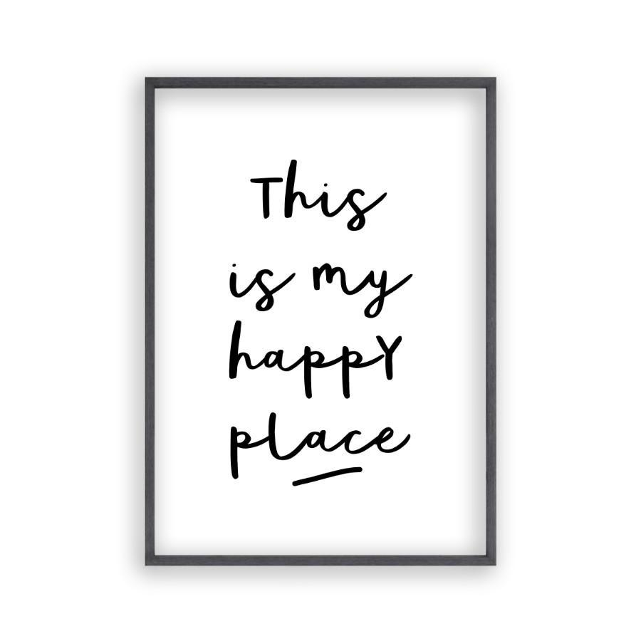 This Is My Happy Place Print - Blim & Blum