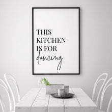 Load image into Gallery viewer, This Kitchen Is For Dancing Print - Blim & Blum