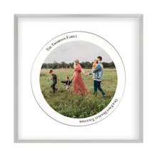 Load image into Gallery viewer, Personalized Circular Photo Print
