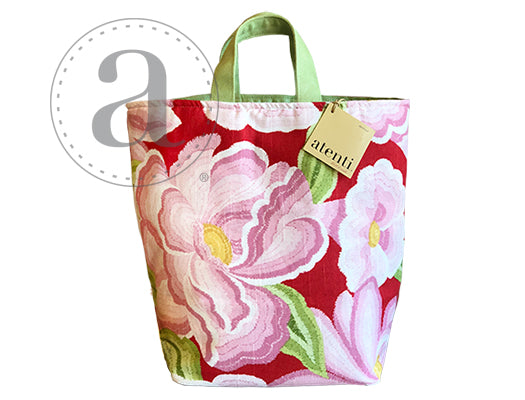 Atenti Pink Sunshine Hope Basket Bag