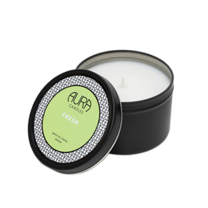Aura Travel Tin Candle Fresh