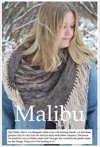 malibu shawl knitting kit