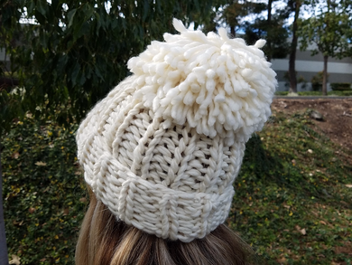 Chloe Kim Hat Knitting Kit