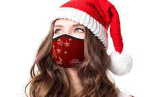 Merry Christmas Adjustable Face Covering