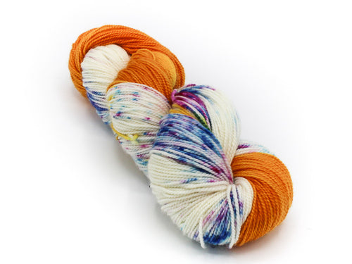 What A Peach - Baah Yarn La Jolla - Dipped and Dappled Series