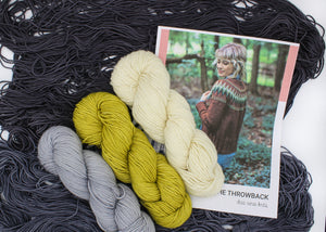 Andrea Mowry The Throwback Sweater Knitting Kit