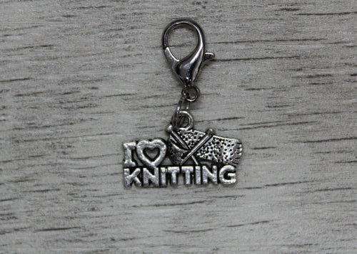 I Love Knitting Stitch Marker