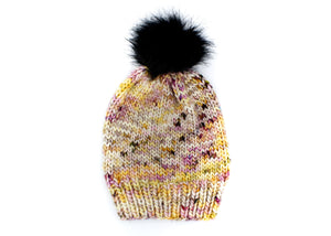 Beat The Chill Hat Knitting Kit by Baah Yarn