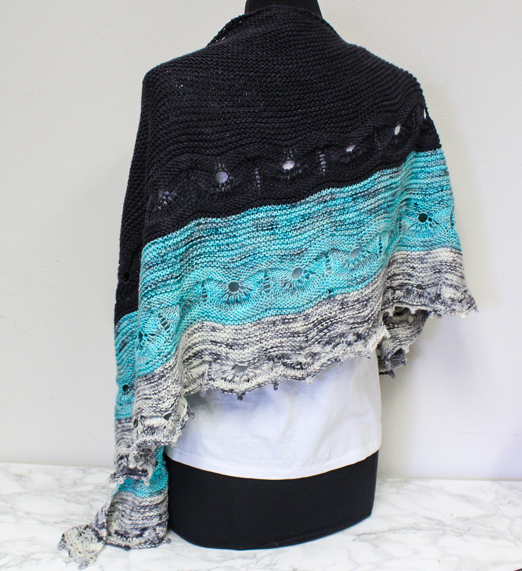 Odyssey Shawl by Joji Locatelli Knitting Kit