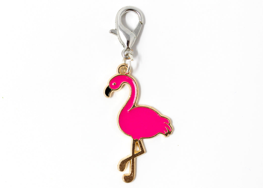 Flamingo Knitting Stitch Marker