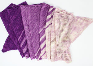 Gradient Bias Knitting Kit by Baah Yarn