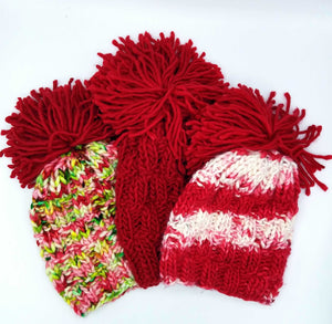 Baah Yarn Snow Falling For You Hat Knitting Kit