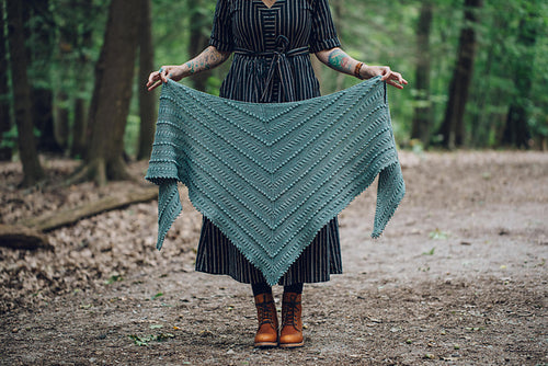 Andrea Mowry Liminal Shawl by Knitting Kit