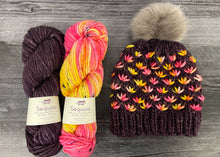 BKnitsHandmade LotusFlowerBeanie Knitting Kit