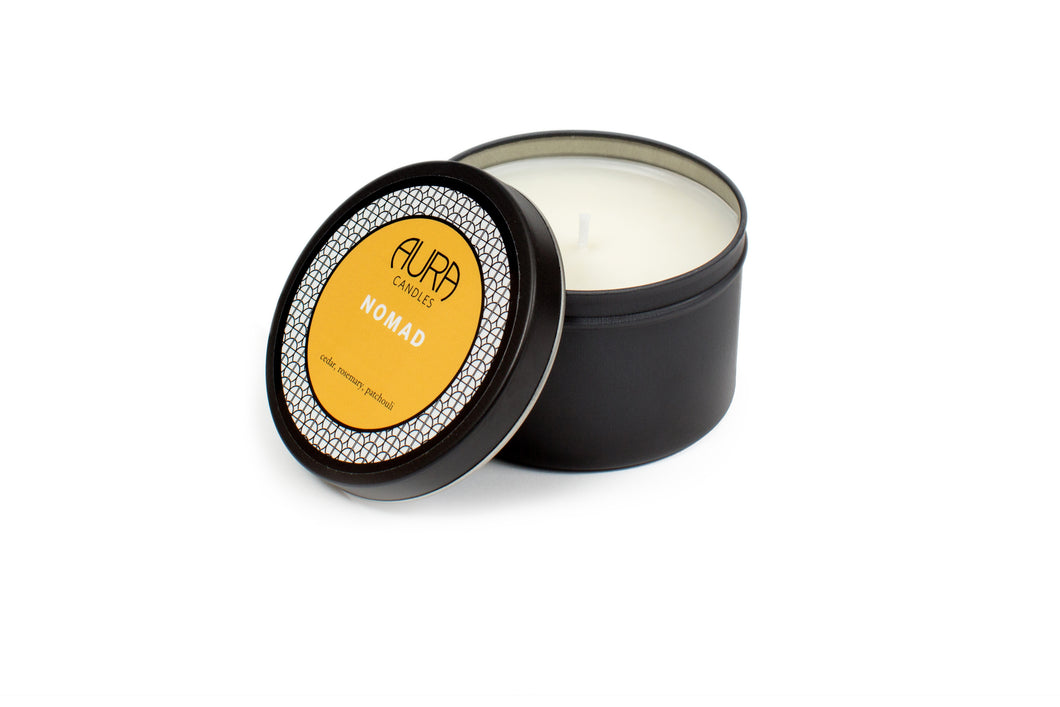 Aura Travel Tin Candle Nomad