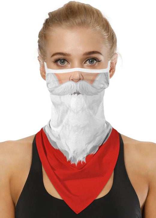 Santa Clause Face Covering