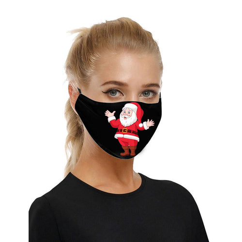 Santa Adjustable Face Covering