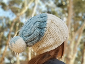 Sierra Hat Knitting Kit by Baah Yarn
