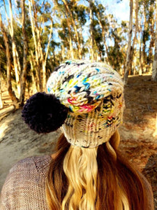 Tahoe Hat Knitting Kit by Baah Yarn