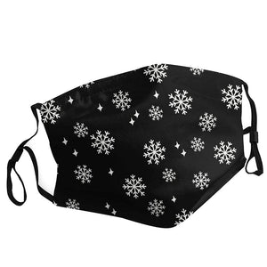 Snowflake Adjustable Face Covering