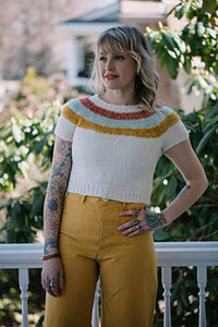Andrea Mowry Vintage '83 Knitting Kit with Baah Yarn