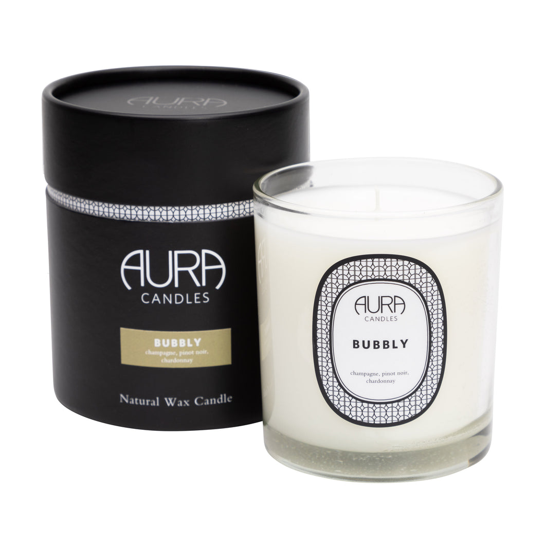 Aura Everyday Candle Bubbly