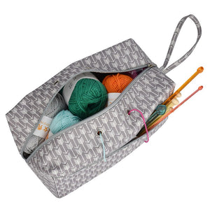 Grey Arrow Yarn Storage Bag