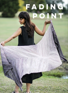 fading point wrap knitting kit by joji