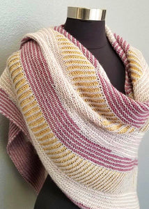 Andrea Mowry Satellite by Knitting Kit with Baah Yarn