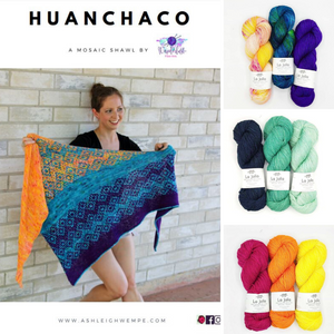 Huanchaco Shawl Knitting Kit - Wanderlust Fiber Arts
