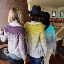The Comfort Fade Cardi Knitting Kit by Andrea Mowry