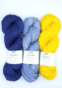 Goldfinch Andrea Mowry Baah Yarn Knitting Kit