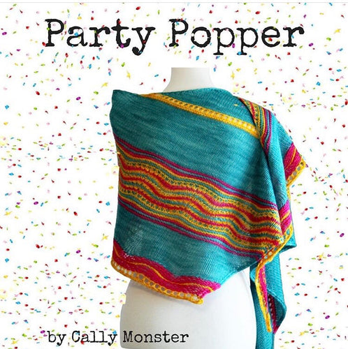 Cally Monster Party Popper Knitting Kit