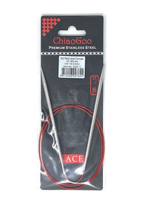 ChiaoGoo Red Lace Circular Needles - US 7 - 32 Inches