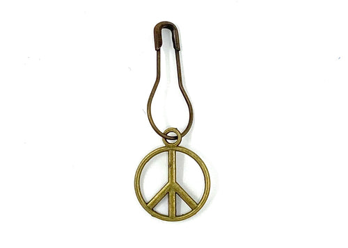 Peace Sign Stitch Marker