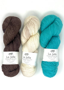 Lisa Hannes Festival of Stitches Knitting Kit with Baah Yarn