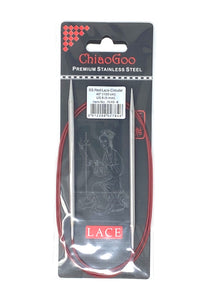 ChiaoGoo Red Lace Circular Needles - US 8 - 40 Inches