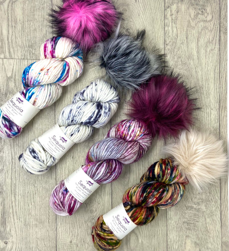 Baah Yarn Sequoia Pom Pom Knitting Kits