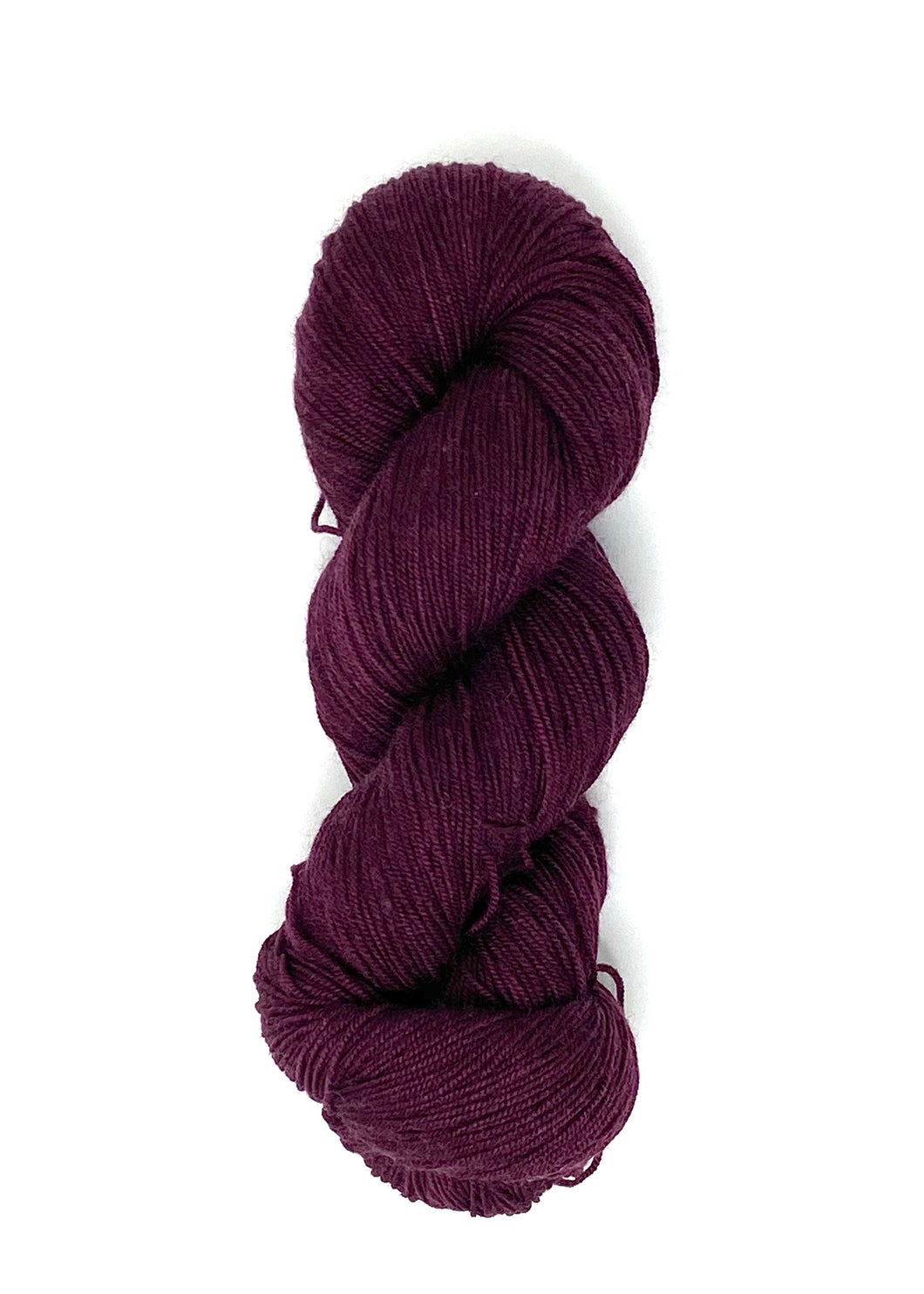 Burgundy Baah Yarn Manhattan