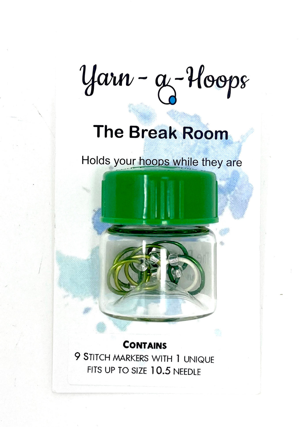 Yarn - a - The Break Room Stitch Markers