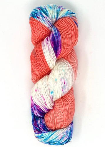 Baah Yarn La Jolla - Grapefruit Sangria - Dipped and Dappled Series