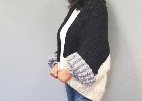 Baah Yarn Cocoon Shrug Knitting Kit