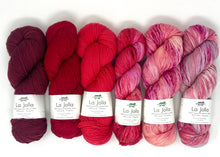 Ambah O'Brien Cherry-Berry Wrap Knitting Kit Baah Yarn