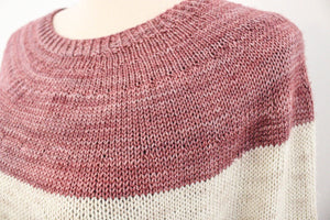 Gracious Sweater by Espace Tricot Knitting Kit with Baah Yarn