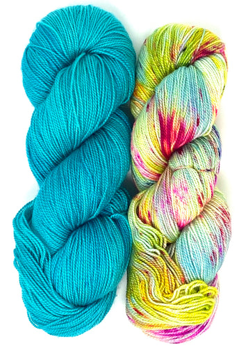 Breathe And Hope By Casapinka - Baah Yarn Knitting Kit