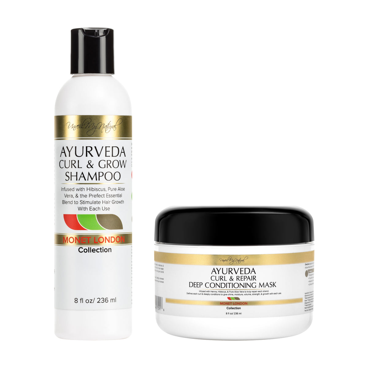 Ayurveda Shampoo & Deep Conditioner Bundle