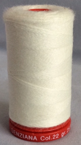 Genziana Wool Thread - Muslin 022
