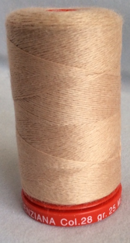 Genziana Wool Thread - Soft Beige 028